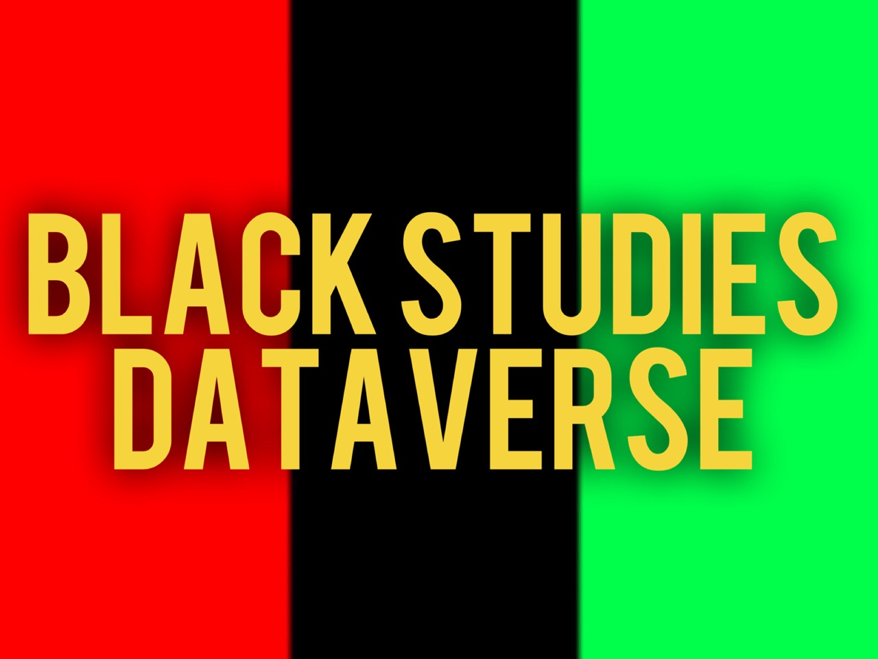 Black Studies & Digital Humanities Dataverse logo