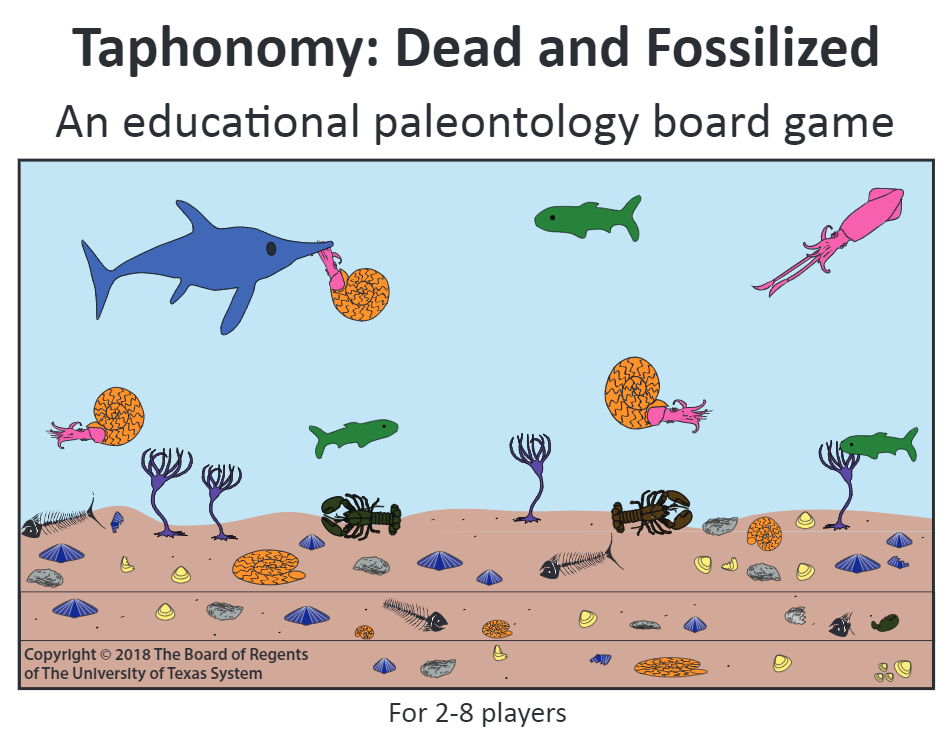 Paleontology Board Game Dataverse logo